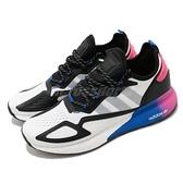 【五折特賣】adidas 休閒鞋 ZX 2K Boost 白 黑 桃紅 男鞋 三葉草 運動鞋 【ACS】 FX8835