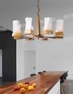 【燈王的店】北歐風 吊燈8燈 客廳燈 餐廳燈 吧檯燈 301-98184-1