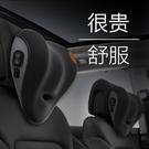 汽車頭枕護頸枕車用座椅靠枕電動按摩記憶棉車內頸椎枕頭腰靠一對【全館免運】