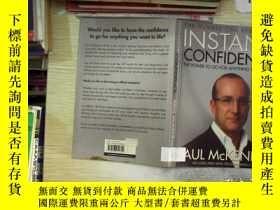 二手書博民逛書店Instant罕見Confidence (Book and CD
