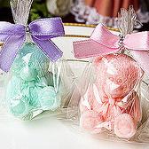 婚禮小物-精巧單包裝泰迪熊香皂-迎賓送客禮/二次進場/抽獎活動 幸福朵朵