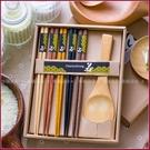 婚禮小物-圓滿成家筷勺禮盒(附贈提袋) - 姊妹伴娘禮/活動禮/婚禮小物 幸福朵朵