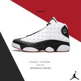 IMPACT Air Jordan 13 He Got Game 喬丹 黑 白 紅 13代 熊貓 414571-104