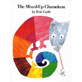 【麥克書店】THE MIXED-UP CHAMELEON/平裝繪本‧艾瑞卡爾幼兒成長系列‧
