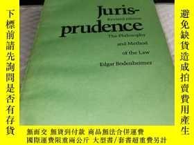二手書博民逛書店法理學--法律哲學和方法(Juris-prudence罕見Revised edition 英文版)Y4211