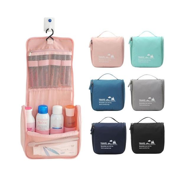 小清新掛壁盥洗包 洗漱包 盥洗包 收納包 旅行盥洗包 旅行收納包 旅行用品【RB572】