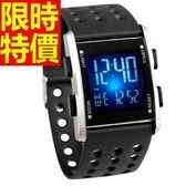 運動手錶-防水別緻休閒電子腕錶2色61ab8[時尚巴黎]