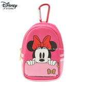 日本限定 DISNEY STORE 米妮 小背包造型 掛飾 收納包 / 鑰匙包 / 零錢包