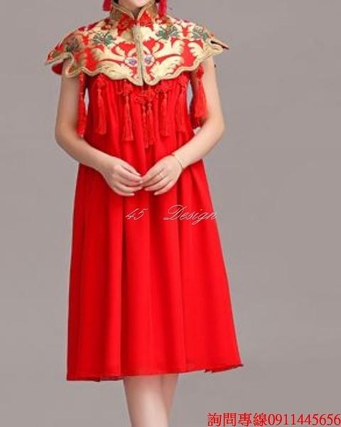 (45 Design) 來圖訂製款. 洋裝 性感網紗禮服 新娘禮服長禮服晚禮服(可定製顏色XXS~ 5XL 6XL 7XL 加大)