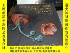 二手書博民逛書店Pathologic罕見Basis of Veterinary DiseaseY4211 ISBN:978
