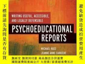 二手書博民逛書店Writing罕見Useful, Accessible, and Legally Defensible Psych