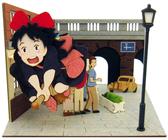 【拼圖總動員 PUZZLE STORY】 到達  紙模型/立體紙雕/SANKEI/宮崎駿/魔女宅急便
