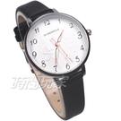 DUKE NICLE 尼克.公爵 彼得潘小仙子 童趣 時尚腕錶 高質感皮革 女錶 學生錶 D5102白黑