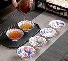青花瓷功夫茶具陶瓷茶盞