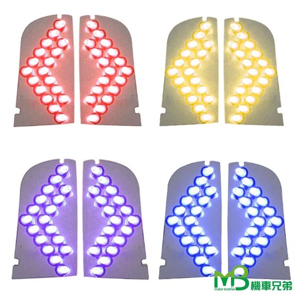 機車兄弟【KOSO  CUXI-100 LED前後方向燈組】