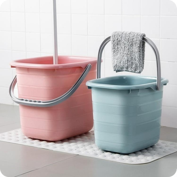 水桶 塑料加厚長方形手提儲水水桶大號桶家用拖把桶塑料桶小方桶洗衣