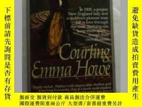 二手書博民逛書店Courting罕見Emma Howe 英文原版口袋書Y1098