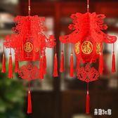 春節裝飾用品新年立體春字燈籠宮燈掛件掛飾過年裝飾場景布置年貨 DJ4926『易購3c館』