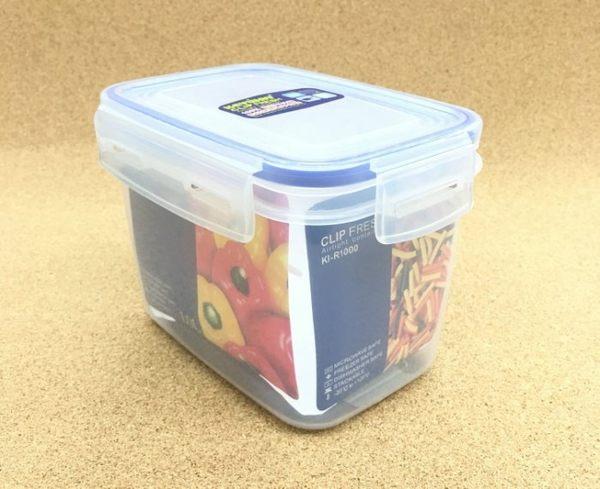 《一文百貨》KEYWAY天廚長型保鮮盒1L/KI-R1000/台灣製造