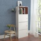 書柜書架簡易帶門收納柜自由組合柜儲物柜簡約現代置物柜多門柜子 陽光好物