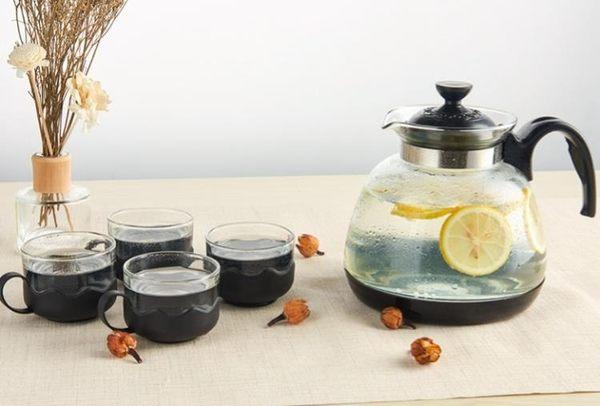 水之物語玻璃涼水壺耐高溫冷水壺耐熱防爆家用大容量涼白開水扎壺【限時八五折】
