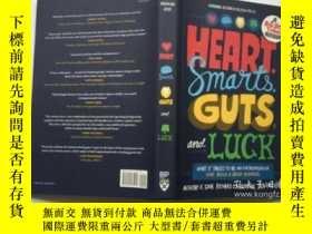 二手書博民逛書店Heart,罕見Smarts, Guts, and Luck: