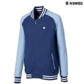 K-Swiss Ottoman FZ Jacket休閒外套-男-單寧藍