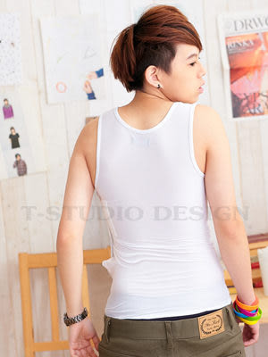 《T-STUDIO拉拉購物網》出清特惠 買一送一 / 平價款-粘式全身束胸(白) 【M】