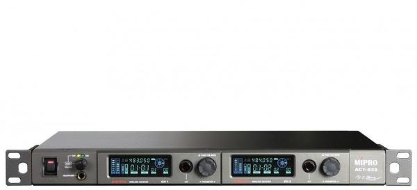 MIPRO ACT-828/ACT-80Hx2 數位式雙頻無線麥克風系統