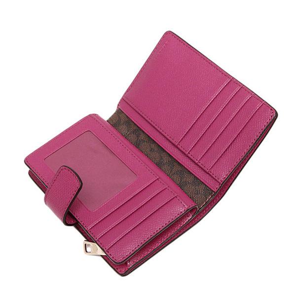 COACH F53436 錢包女式新款短款中長款錢包折疊拉鏈錢夾