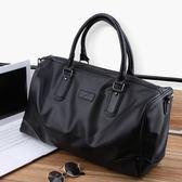 新款男士手提包袋商務出差辦公電腦背包軟皮大容量斜背單肩包   麥吉良品