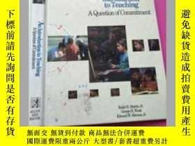 二手書博民逛書店An罕見Introduction to Teaching 教學概