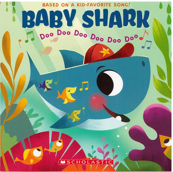 【麥克書店】BABY SHARK/ /英文繪本《主題:幽默》