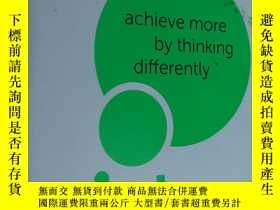 二手書博民逛書店Mind罕見Gym:Achieve More By Thinki