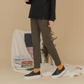 【中大尺碼】MIT側剪接顯瘦牛仔長褲