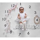 攝影布嬰兒拍照背景布寶寶創意月份攝影道具毯子新生兒攝影服飾wy