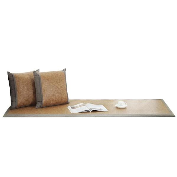飄窗墊北歐風夏季涼席薄款防滑臥室漂窗台墊毯陽台榻榻米墊子定做 滿天星