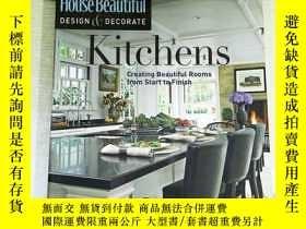 二手書博民逛書店House罕見Beautiful Design & Decorate: KitchensY253683 Hea