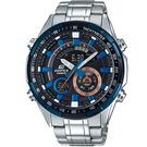 CASIO卡西歐EDIFICE沉穩時尚風格雙顯錶 ERA-600DB-1A