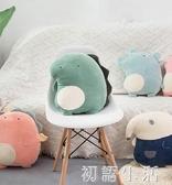 恐龍玩偶可愛生日 毛絨玩具床上睡覺被子兩用軟抱枕小公仔娃娃中秋節