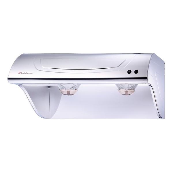 【櫻花 SAKURA】斜背式除油煙機 80cm R3250L (全台標準安裝,安裝費由現場安裝人員收取)