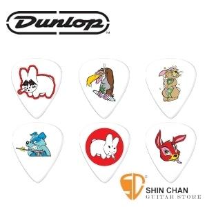 pick ▻ Dunlop 叛逆動物組【Frank Kozik】(六片組)