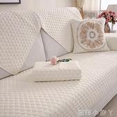 沙發墊全棉布藝夏季簡約實木坐墊現代四季歐式通用沙發套全包 全館免運