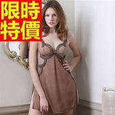 睡衣(裙裝)-典雅自信真絲質桑蠶絲女士居家服57s5【時尚巴黎】