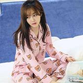 秋季居家月子服 純棉孕婦夏季薄款開衫哺乳衣喂奶睡衣產婦家居服 zh7369『美好時光』