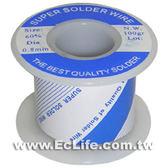 焊錫60%100g 0.8mm
