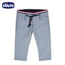 chicco- 酷狗-腰織帶直紋長褲