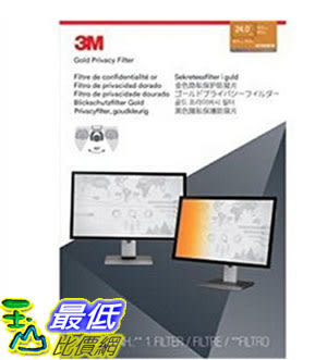 [美國直購] 3M GF240W1B 金色 螢幕防窺片 Privacy Screen Protectors Filter for Widescreen 24.0 - 16:10, 519 mm x 325 mm