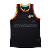 Nike 球衣 Giannis Freak Jerseys 黑 紅 男款 球衣 字母哥 籃球 運動休閒【ACS】 DA5685-010