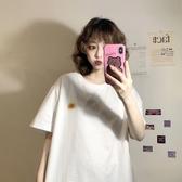 中長款T恤 寬鬆衣服夏季2020新款韓版長款打底衫網紅上衣白色短袖T恤女ins潮 中秋降價